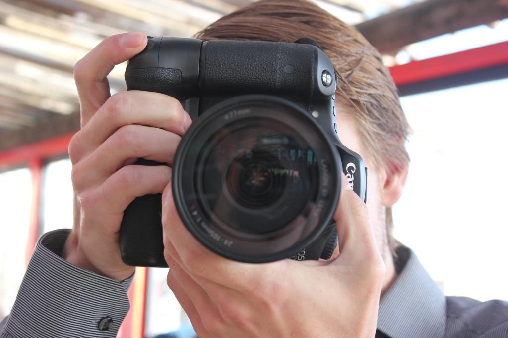 Daan met camera 1